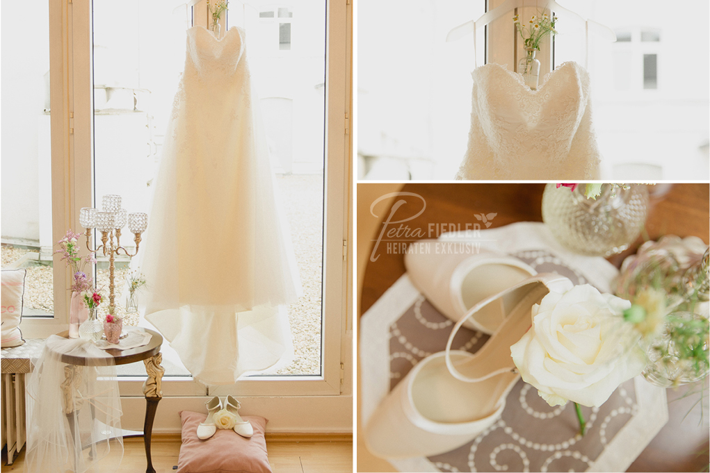 Hochzeitskleid von Maria Amour