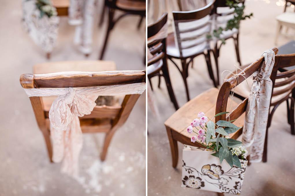 Freie Trauung Stühle