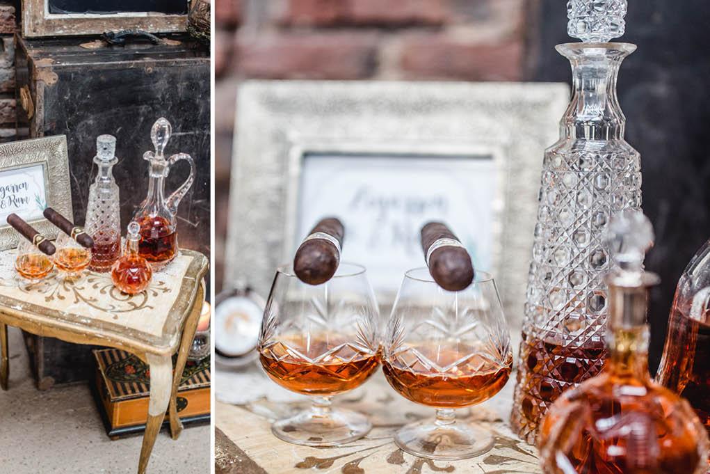 Zigarren und Rum Bar