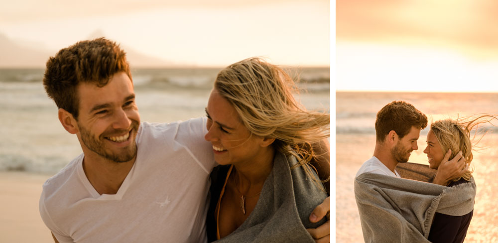 Lovebirds at the Beach