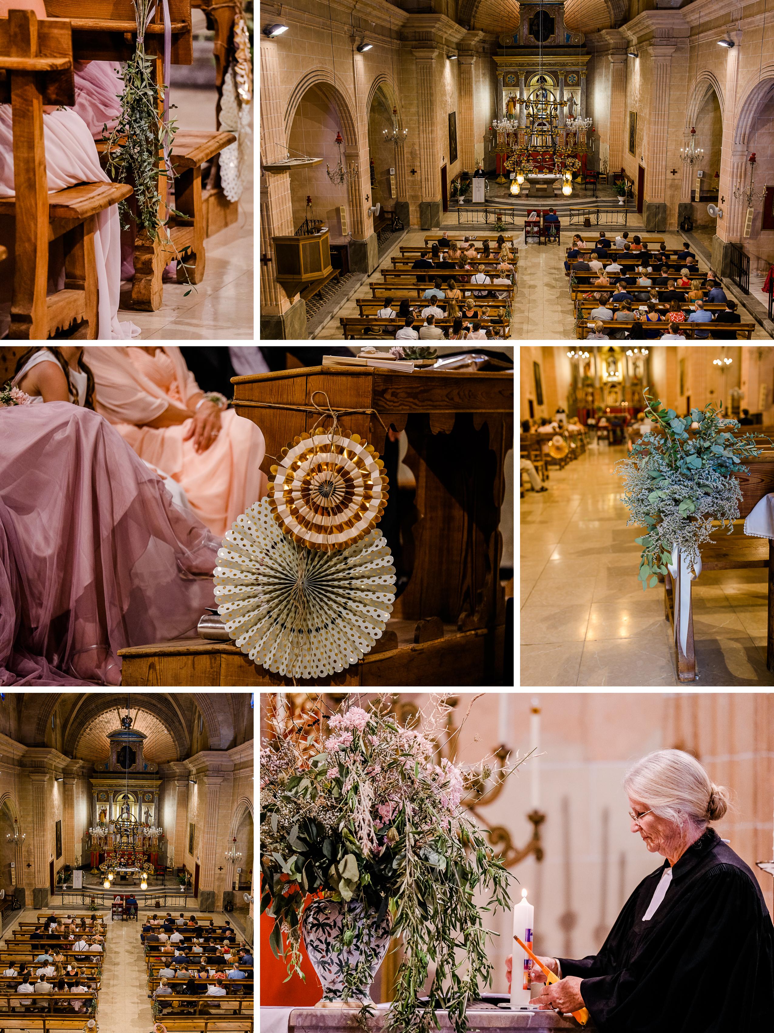 Kirchliche Trauung Mallorca, Caimari