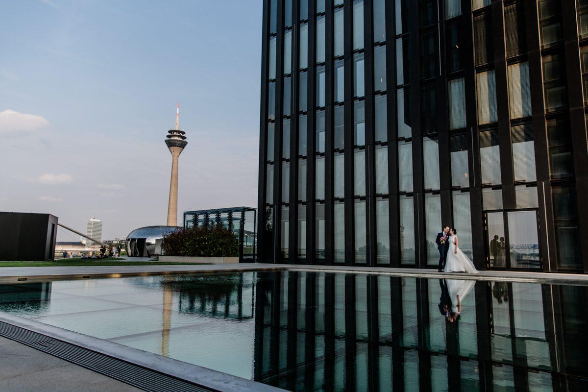Hochzeit Im Medienhafen Dusseldorf Petra Fiedler Heiraten