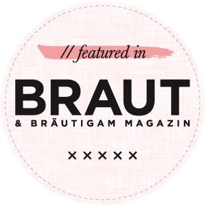 Veröffentlicht im Brautmagazin