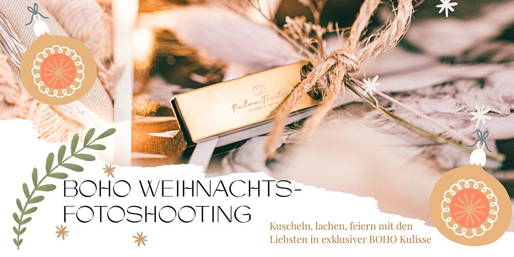 BOHO Weihnachtsfotoshooting Aktion